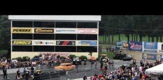 "Jeff Lutz ""57 Chevy"" vs Joe Woods ""Dominator"" at No Prep Kings Maple Grove"