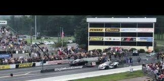 Mike Serrano Turbo Camaro vs BoostedEgo Turbo New Edge at No Prep Kings Maple Grove