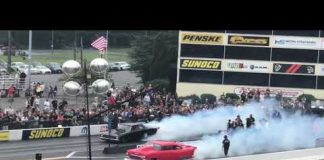 Chuck 55 giving it the sauce on a Bi Run at No Prep Kings Maple Grove