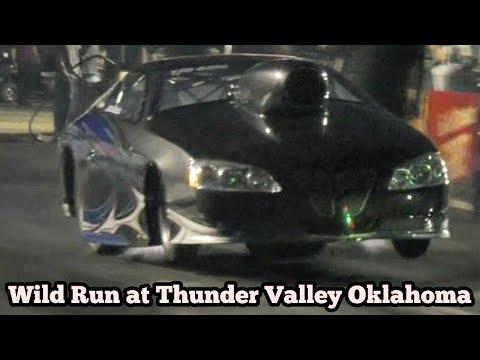 Lynn Mackenzie wild run at Thunder Valley, Noble Oklahoma