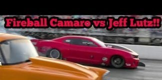 Fireball Camaro vs Jeff Lutz at Memphis No Prep Kings 2