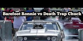 Barefoot Ronnie vs Death Trap Chuck at Memphis No Prep Kings 2