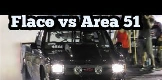 Flaco vs Conspiracy Theory in a drag race at Memphis No Prep Kings 2