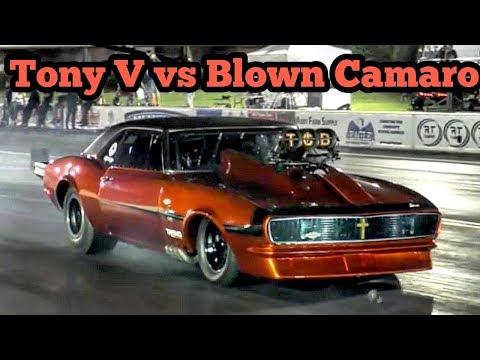 Tony V vs Blown Camaro at Memphis No Prep Kings 2