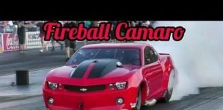 Fireball Camaro vs Death Trap Chuck at Memphis No Prep Kings 2