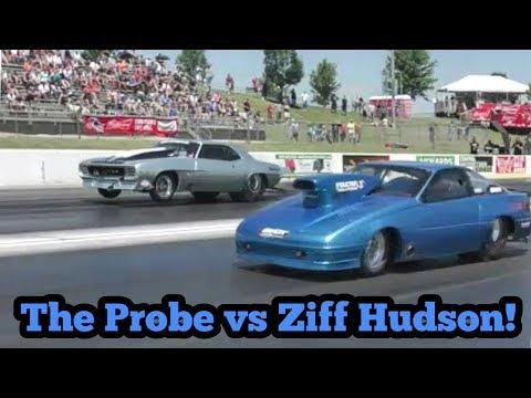 The Probe vs Ziff Hudson Procharged Camaro at No Prep Kings 2 Topeka Kansas