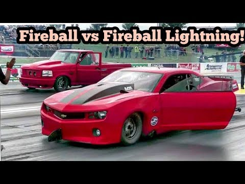 Fireball Camaro vs Fireball Lightning at No Prep Kings 2 Topeka Kansas