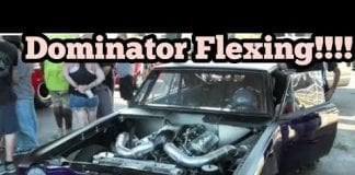 Dominator Amazing Come From Behind Race at No Prep Kings 2 topeka kansas
