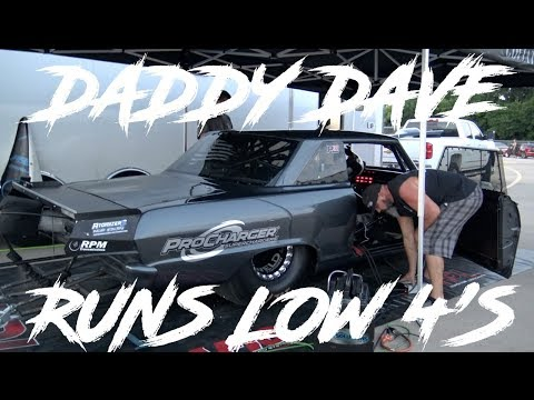 STREET OUTLAWS DADDY DAVE GOLIATH NO PREP KINGS DRAG RACING