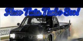 Flaco's Twin Turbo S10 vs The Squarrel at No Prep Kings 2 Topeka Kansas