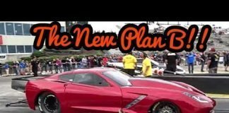 The New Plan B twin turbo Corvette vs Boosted Ego at No Prep Kings 2 Topeka kansas