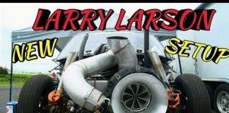 Larry Larson 136mm turbo in action at no prep kings 2 topeka kansas
