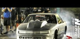 John Doe on small tires vs Nicolas turbo rx7 at no prep kings 2 topeka kansas