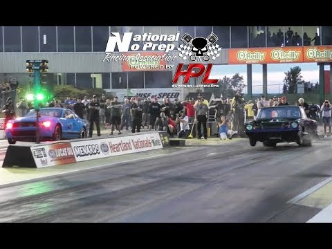 Dominator vs The Squirrel in a crazy race at No Prep Kings 2