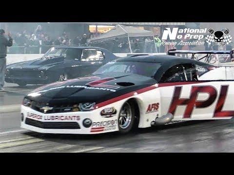 Doc Street Beast vs Harry Hruska twin turbo Camaro at Galot No Prep Kings
