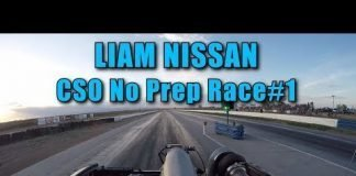 Liam Nissan Goes No Prep Racing: Wheelies!!