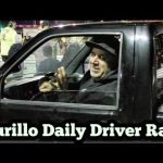 Mike Murillo Racing a Syclone Daily Driver No Prep