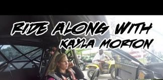 RIDE ALONG WITH STREET OUTLAWS KAYLA MORTON IN HER PROCHARGED MUSTANG!