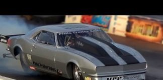 The Mistress:  Shawn Wilhoit's 1968 Camaro Racing at Street Outlaws Live No Prep Kings Event
