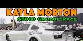 Kayla Morton's New Mustang in $5,000 Grudge Race