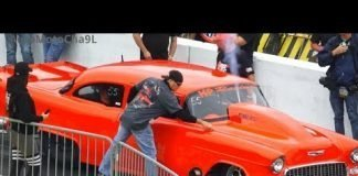 Street Outlaws No Prep KINGS Mike Murillo vs  Chuck Parker 55 Chevy