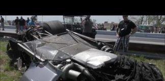 Da Boogeyman in a horrific wreck at No Prep Mayhem