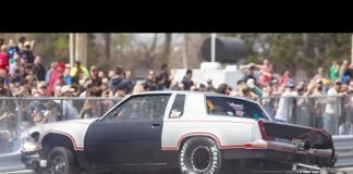 """Street Outlaws """"The Cutty"""" WRECKS in No Prep Race"""