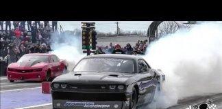 Fireball Camaro vs Bruder Bros driving Jack French's VIxen at Tulsa No Prep Kings