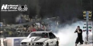 Death Trap Chuck vs Larry Baker twin turbo Impala at Orangeburg No Prep Kings Filming
