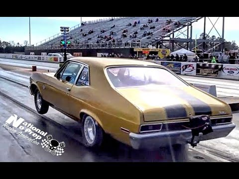 Nitrous Mustang goes for a ride vs Nitrous Nova at Galot No Prep Kings Filming