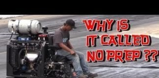 WHY IS IT CALLED NO PREP RACING ??