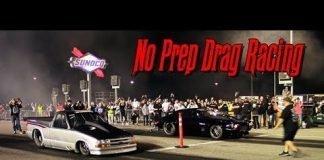 No Prep Racing on NASCAR Pit Road!