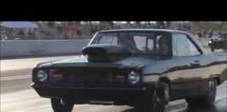 Dominator vs Wheel standing Camaro at Redemption 6.0