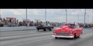 Street Outlaws Dominator vs The 55 at No Prep Mayhem