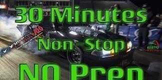30 Minutes Of Non Stop No Prep Street Outlaws, Street Cars, Wheelies, and Crashes. (4k)