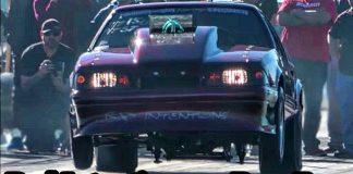 Bad Intentions Nitrous Mustang at Winter Meltdown No Prep