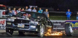 Camaro DESTROYS Axle - I29 No Prep!