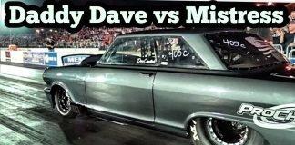Daddy Dave vs The Mistress Turbo Camaro at  Memphis No Prep Kings 2