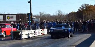 Street Outlaws Doc VS The 55 - Blown Chevy No Prep   Redemption Nov 29 2014