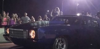 "Street Outlaws ""Doc"" vs Camaro No Prep Wichita Falls"