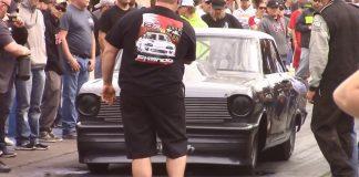 Street outlaws Daddy Dave vs Crashing Mustang at No Prep Mayhem