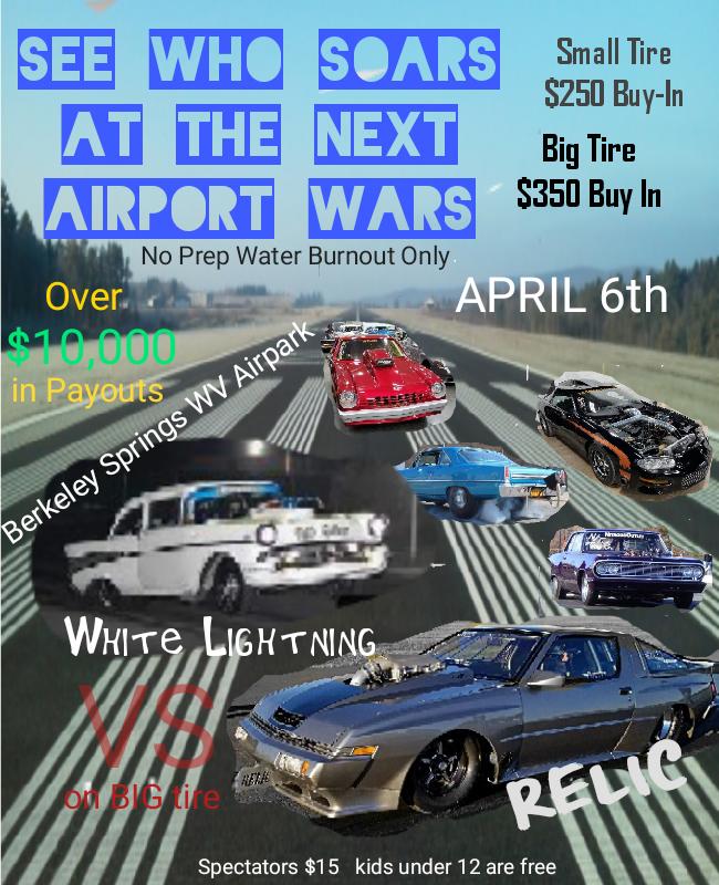 Airport Wars No Prep Race 2019