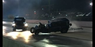 BLOWN Street Rod No Prep CRASH, Truck SAVES IT!