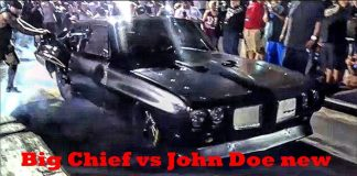 Big Chief vs John Doe at the Memphis Street Outlaws No Prep