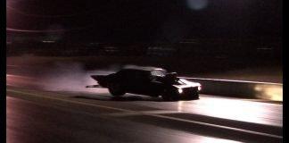 Blown Camaro Finish Line CRASH - No Prep Meltdown