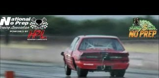 Crushed turbo mustang strong pass at the dirty south no prep!