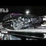 Da Kid colliding with Cody Jones turbo coupe at No Prep Mayhem