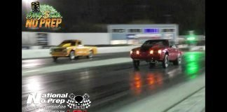 Donkay nitrous mustang vs Nitrous s10 at the dirty south no prep