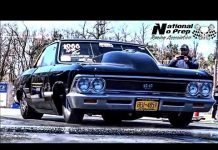 Gywnn's Nitrous 908 ci Reher Morrison powered Chevelle in the Nuclear No Prep at Cordova