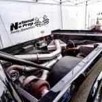 Jason Cantu Twin Turbo Truck vs Larry Baker's TT Impala at San Antonio Street Outlaws No Prep